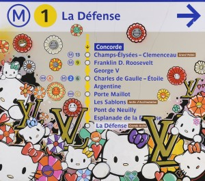 La défense, 2009 86x97cm,  Technique mixte sur plaque de métro, signé et daté au dos Estimation : 1000 -1500 € Prix premium : 1 905 € Aguttes, Lyon, 27/09/2011