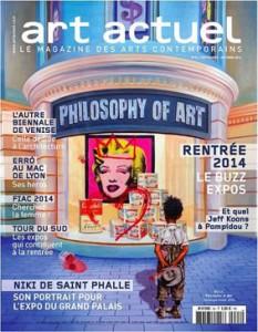 Couverture Art Actuel 2014